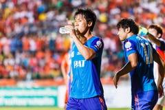 SISAKET THAILAND-JUNE 21: Kim Geun-Chul of Singhtarua FC. Stock Photography