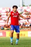 SISAKET THAILAND-JUNE 21: Lee Sang-Ho of Singhtarua FC. Stock Image