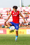SISAKET THAILAND-JUNE 21: Lee Sang-Ho of Singhtarua FC. Royalty Free Stock Image