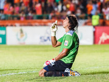 SISAKET THAILAND-JUNE 8: Lucas Daniel of Sisaket FC. Stock Photos