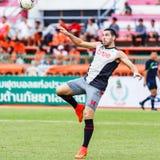 SISAKET THAILAND-JUNE 29: Romain Gasmi of Bangkok Utd. Stock Photos