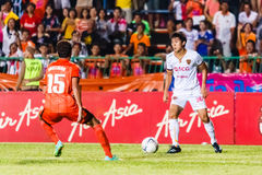 SISAKET THAILAND-JUNE 8: Sarawut Masuk of Muangthong Utd. Stock Images