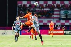 SISAKET THAILAND 29. JUNI: Eakkapan Nuikhao von Sisaket FC Lizenzfreie Stockfotografie