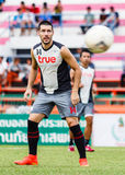 SISAKET THAILAND 29. JUNI: Romain Gasmi von Bangkok-UTD Lizenzfreies Stockfoto