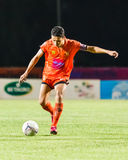 SISAKET THAILAND 21. JUNI: Sarayuth Chaikamdee von Sisaket FC Lizenzfreies Stockfoto