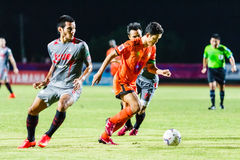 SISAKET THAILAND 29. JUNI: Sarayuth Chaikamdee von Sisaket FC Stockfotos
