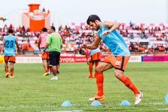 SISAKET THAILAND 29. JUNI: Victor Amaro von Sisaket FC Lizenzfreies Stockbild
