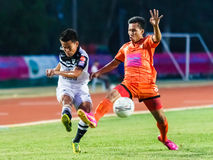 SISAKET THAILAND-MAY 28: Chonlatit Chantakam of Chonburi FC. Stock Image