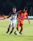 SISAKET THAILAND-MAY 28: Nurul Sriyankem of Chonburi FC. Royalty Free Stock Photos