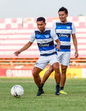 SISAKET THAILAND-MAY 28: Pipob Mo Chonburi FC Zdjęcie Royalty Free