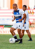 SISAKET THAILAND-MAY 28: Therdsak Chaiman of Chonburi FC. Stock Images