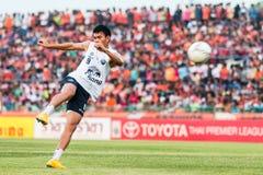 SISAKET THAILAND-October 15: Adisak Kraisorn of Buriram Utd. Stock Images