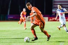SISAKET THAILAND-OCTOBER 22: Brent McGrath of Sisaket FC. Stock Photos