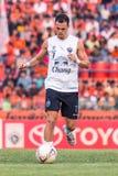 SISAKET THAILAND-October 15: Carmelo Gonzalez of Buriram Utd. Stock Photography