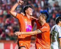 SISAKET THAILAND-OCTOBER 22: Chatchai Mokkasem of Sisaket FC. Stock Photography