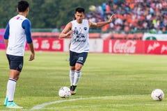 SISAKET THAILAND-October 15: Javier Patino of Buriram Utd. Royalty Free Stock Image