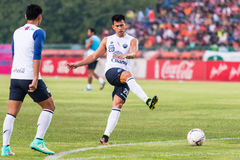 SISAKET THAILAND-October 15: Javier Patino of Buriram Utd. Royalty Free Stock Images