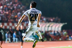 SISAKET THAILAND-OCTOBER-15 : Javier Patino d'UTD de Buriram Image stock