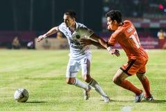 SISAKET Thailand-Oktober 15: Carmelo Gonzalez av Buriram Utd Royaltyfria Bilder
