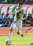 SISAKET 15 Thailand-Oktober: Carmelo Gonzalez van Buriram Utd Stock Afbeeldingen