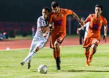 SISAKET 15 Thailand-Oktober: Carmelo Gonzalez van Buriram Utd Royalty-vrije Stock Foto's