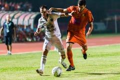 SISAKET 15 Thailand-Oktober: Carmelo Gonzalez van Buriram Utd Stock Fotografie