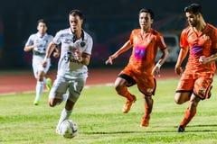 SISAKET THAILAND 15. Oktober: Carmelo Gonzalez von Buriram UTD Lizenzfreies Stockbild
