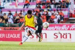SISAKET THAILAND 29. OKTOBER: Chainarong Tathong von Armee-UTD Lizenzfreie Stockfotos
