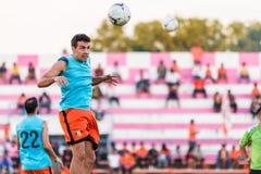 SISAKET THAILAND 29. OKTOBER: Gorka Unda von Sisaket FC Lizenzfreie Stockfotos