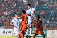 SISAKET 15 Thailand-Oktober: Javier Patino van Buriram Utd Stock Afbeelding