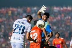 SISAKET 15 Thailand-Oktober: Javier Patino van Buriram Utd Royalty-vrije Stock Foto's