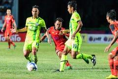 SISAKET THAILAND 12. SEPTEMBER: Anucha Suksai von Sisaket FC (ora Stockbild