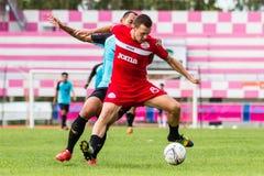 SISAKET THAILAND-September 17: Brent McGrath of Sisaket FC. Stock Image