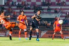 SISAKET THAILAND-September 21: David Bala of Sisaket FC. Stock Photography