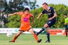 SISAKET THAILAND-September 21: Gorka Unda of Sisaket FC. Stock Image