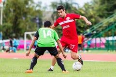 SISAKET THAILAND-September 17: Gorka Unda of Sisaket FC. Stock Images