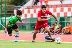 SISAKET THAILAND-September 17: Gorka Unda of Sisaket FC. Stock Image