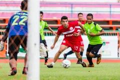 SISAKET THAILAND-September 17: Gorka Unda of Sisaket FC. Stock Photo