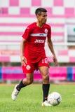 SISAKET THAILAND-September 17: Jakkapong Somboon of Sisaket FC. Stock Photography