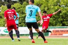 SISAKET THAILAND-September 17: Jakkapong Somboon of Sisaket FC. Stock Photos