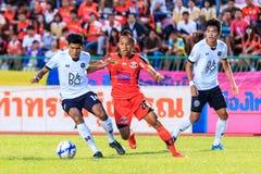 SISAKET THAILAND-SEPTEMBER 16: Jirawat Daokhao of Sisaket FC. (o Stock Image