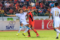 SISAKET 20 THAILAND-SEPTEMBER: Lee Jun-Ki van (wit) PEUTERsc in a Stock Afbeelding