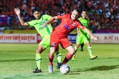 SISAKET THAILAND 12. SEPTEMBER: Lyuben Nikolov von Sisaket FC (oder Lizenzfreies Stockbild