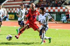 SISAKET THAILAND-SEPTEMBER 16: Mohsen Bayatinia of Sisaket FC. ( Stock Photography