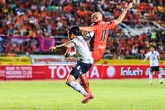SISAKET 16 THAILAND-SEPTEMBER: Mohsen Bayatinia van Sisaket FC ( stock foto