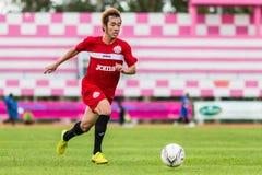 SISAKET THAILAND-September 17: Nuttawut Khamrin of Sisaket FC. Stock Photos