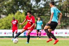 SISAKET THAILAND-September 17: Piyawat Thongman of Sisaket FC. Stock Photo