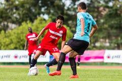 SISAKET THAILAND-September 17: Piyawat Thongman of Sisaket FC. Royalty Free Stock Images