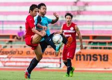 SISAKET THAILAND-September 17: Piyawat Thongman of Sisaket FC. Royalty Free Stock Photos