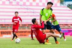 SISAKET THAILAND-September 17: Sarayuth Chaikamdee of Sisaket FC Stock Photography